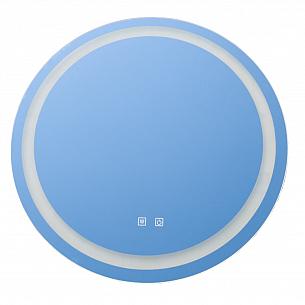 Oglinda rotunda cu LED , touch si dezaburire , 69cm