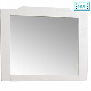 Oglinda seria 601 - 85cm alb rustic