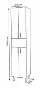 COLOANA SERIA 002 WENGE M_2
