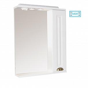 Oglinda seria 172 - 65cm alb rustic