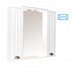 Oglinda seria 172 - 75cm alb rustic